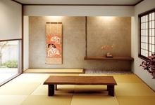 天然い草の琉球畳の写真