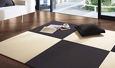 カラー樹脂素材の畳表写真
